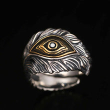 God's Eye Sterling Silver Ring