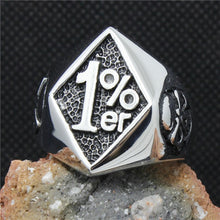 1% Stainless Steel Ring