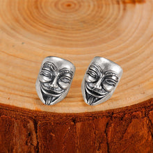 Guy Fawkes Mask Earrings