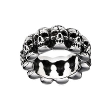 Headhunter Skull Ring
