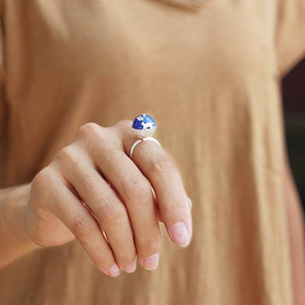 Jardin The Cat's Dream Natural Lapis Ring
