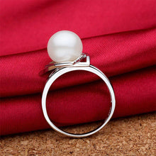 Triangular Pearl Ring