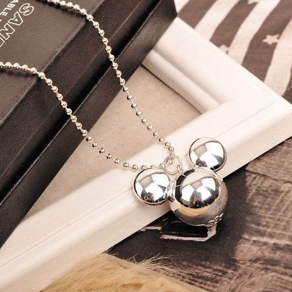 Mickey Solid Pendant necklace