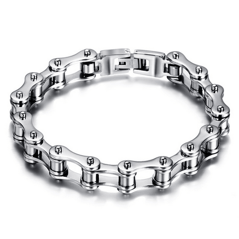 SILVER BICYCLE CHAIN