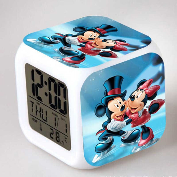Mickey & Minnie Digital Multi-Function Alarm Clock