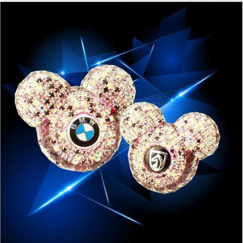 Luxury Mickey Crystal Air Freshener for your Car Air Vent