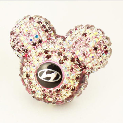 LUXURY DIAMOND MICKEY CAR AIR REFRESHING AGENT