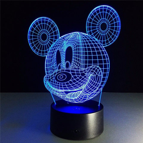Mickey night light