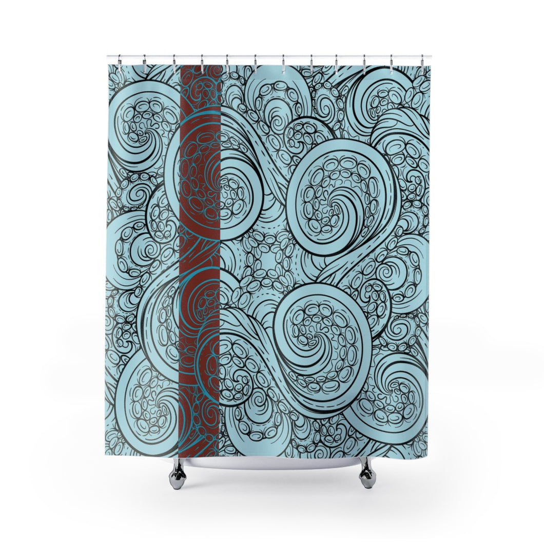 Tentacles - Shower Curtain