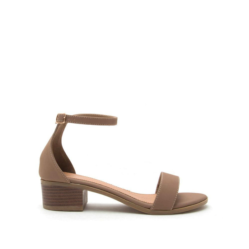Summer Sky - Taupe One Band Sandal