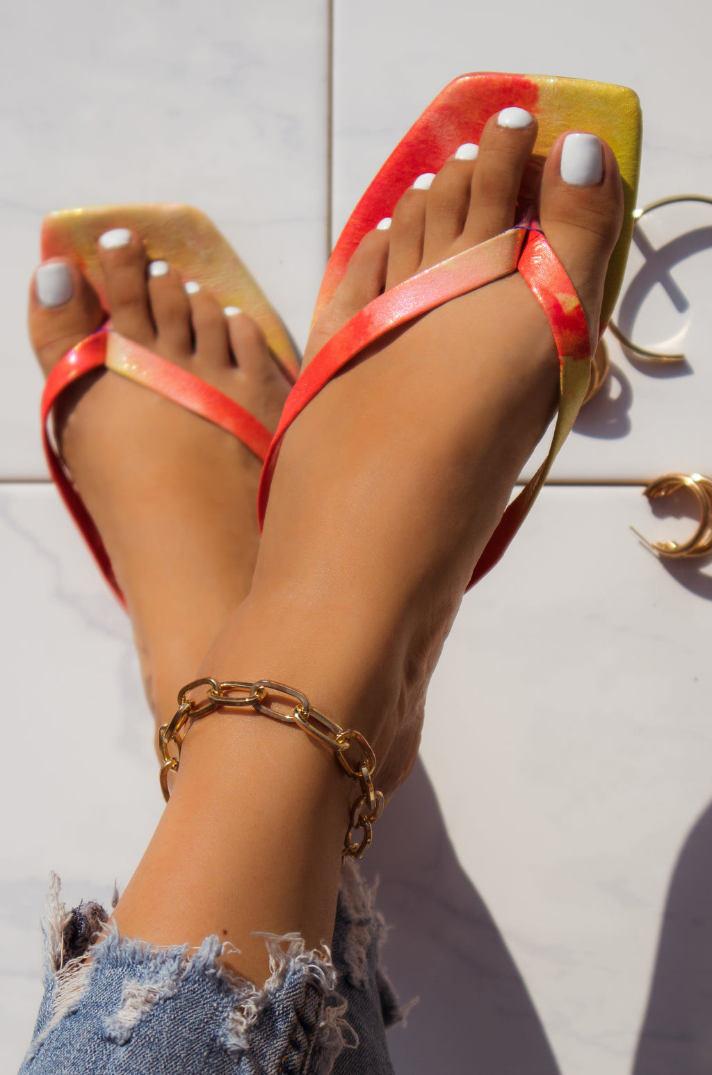 Amerie - Pink Sandals