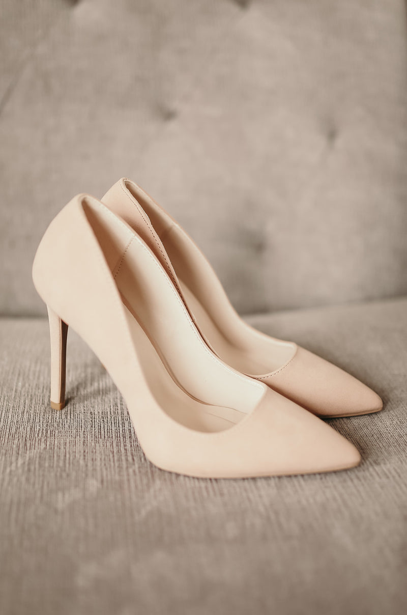 Adore Me - Blush Pointy Toe Pumps