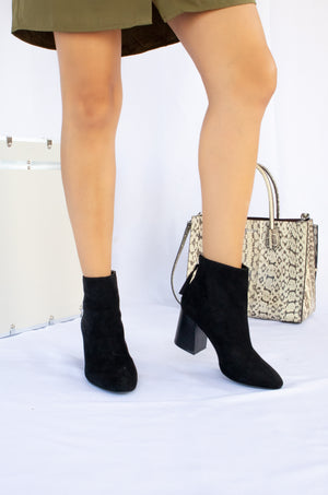 All Eyes On You - Black Booties