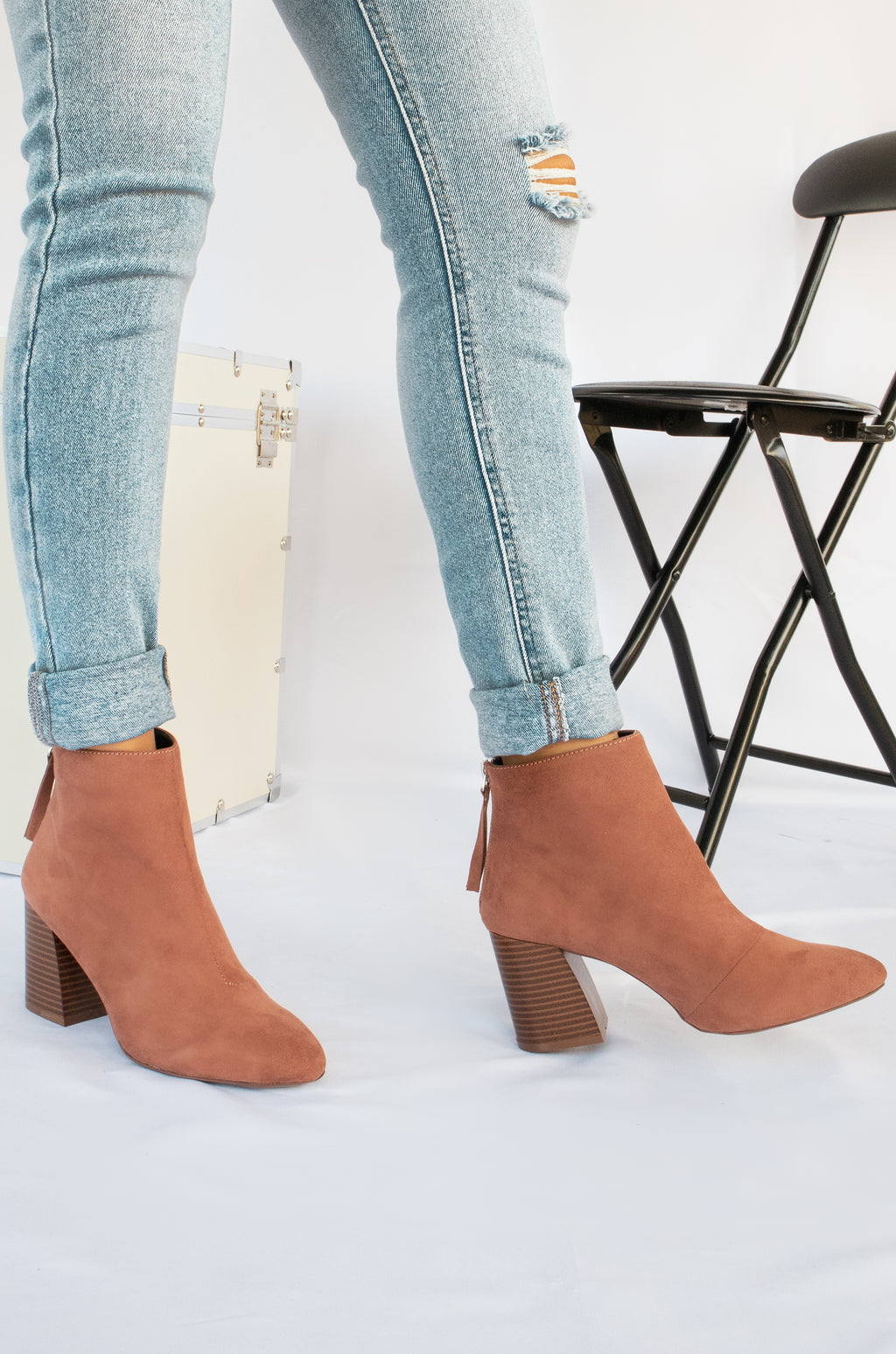 All Eyes On You - Mocha Booties