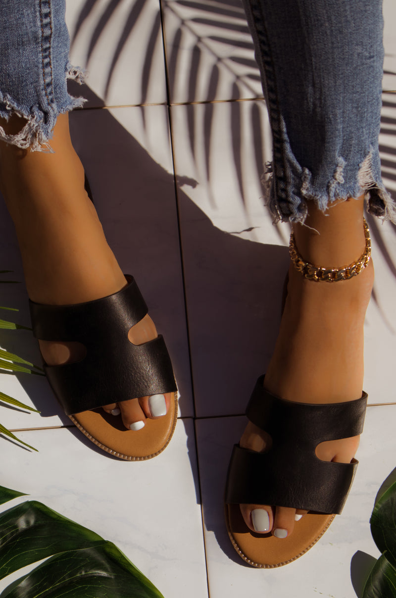 Baily - Black Sandals