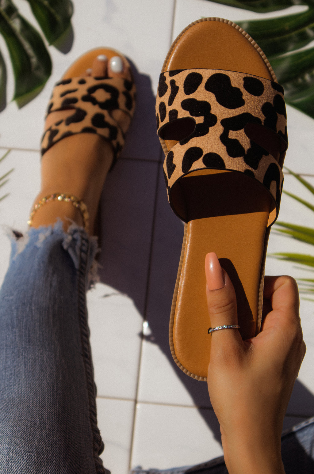 Baily - Leopard Sandals