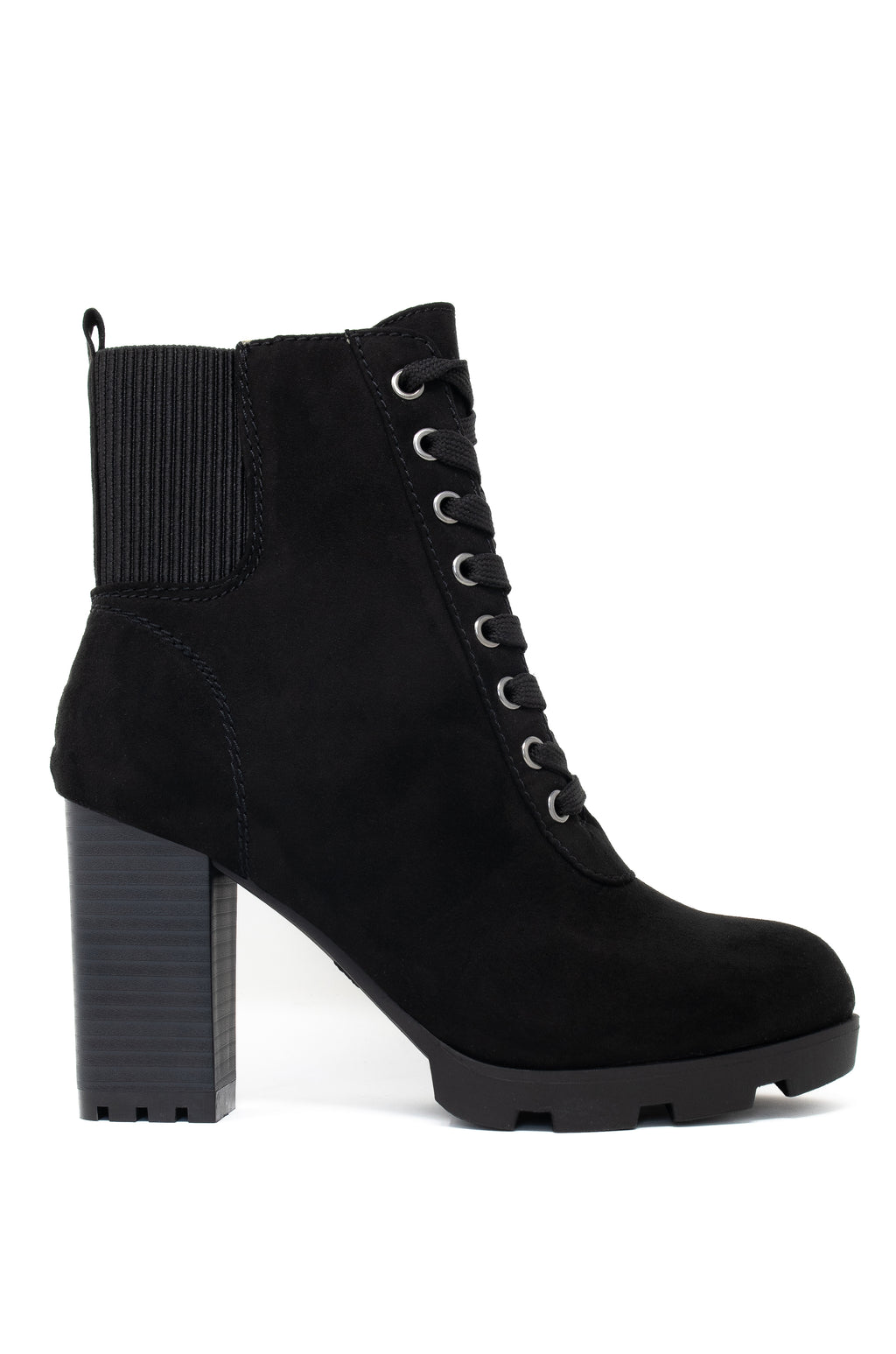 Breaking Rules - Black Booties