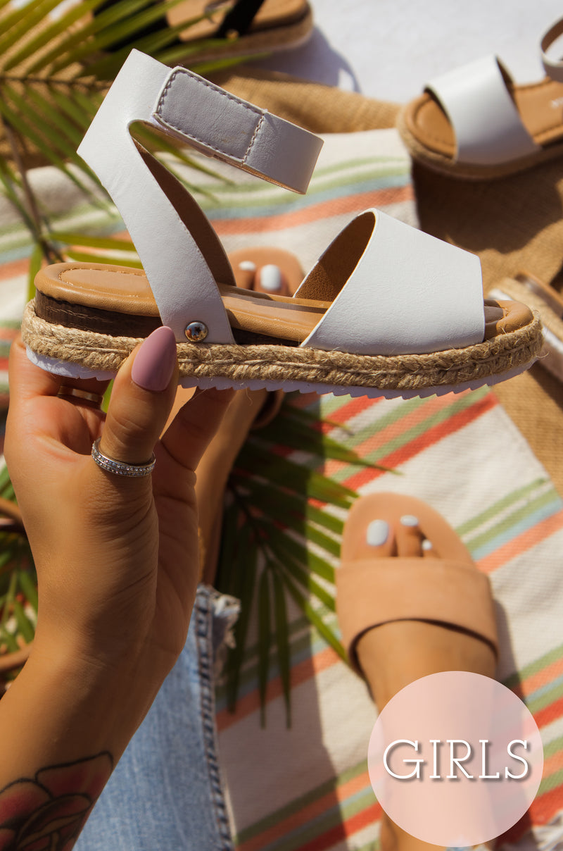 Lilly - White Sandals