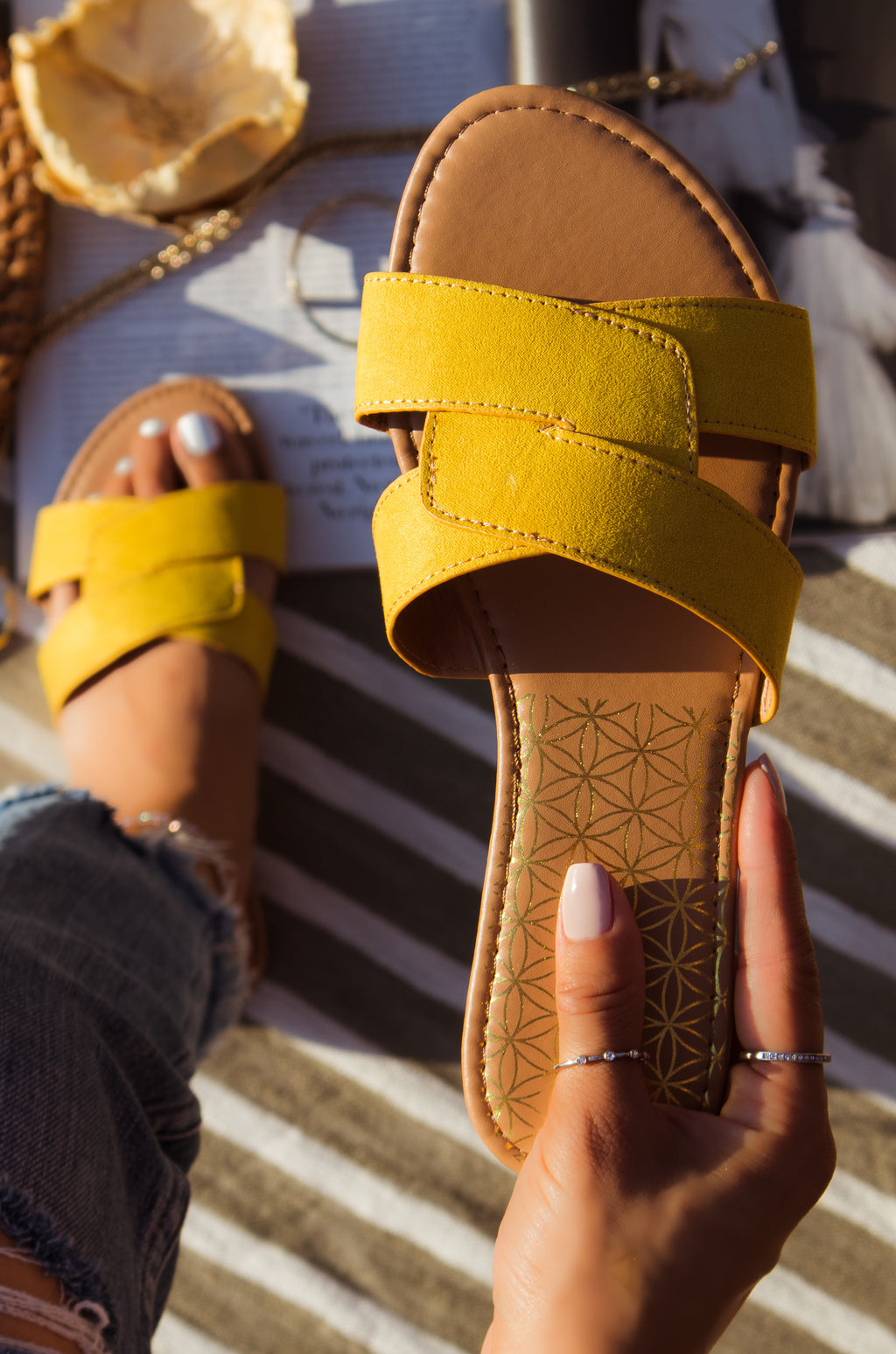 Coastline - Yellow Sandals