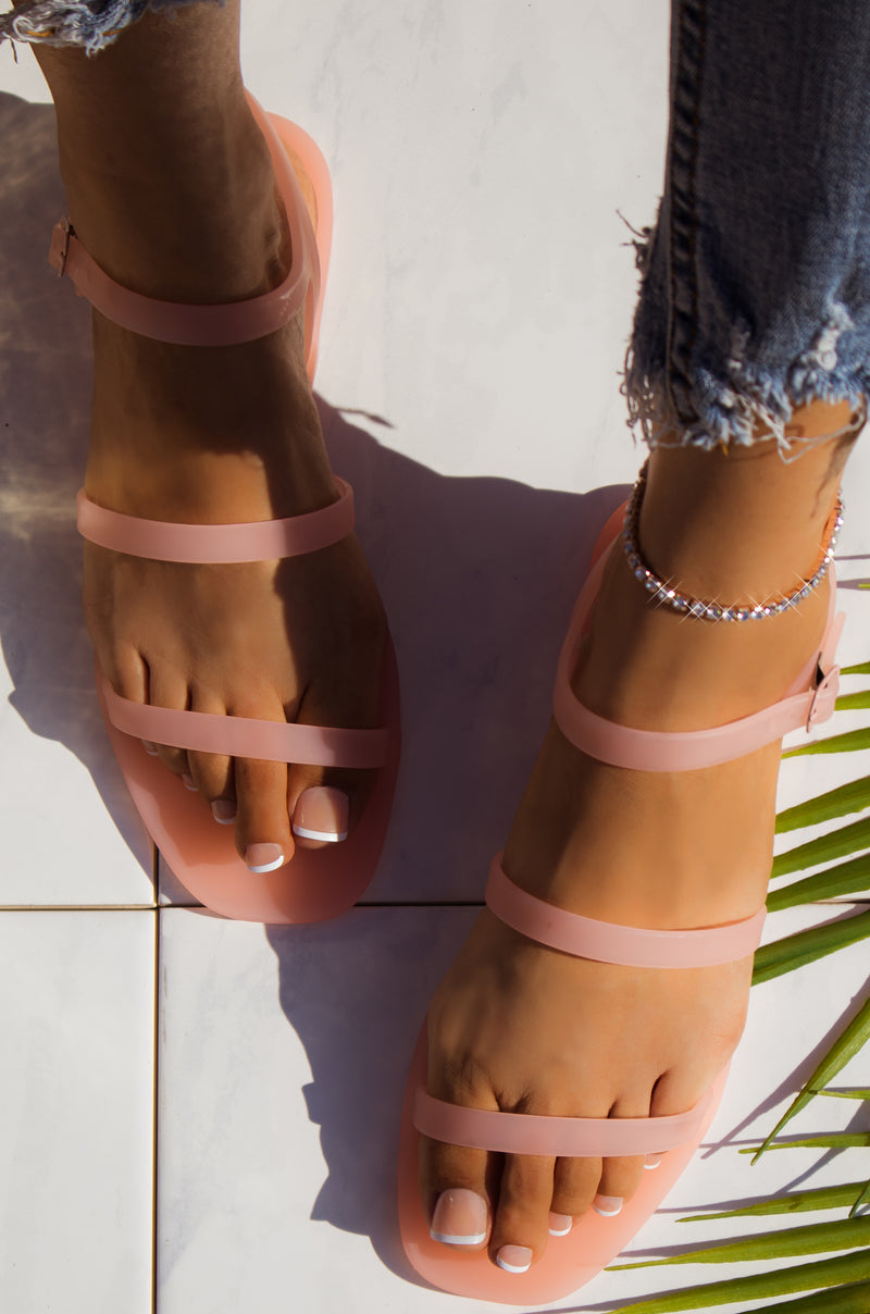 Crystal - Blush Sandals