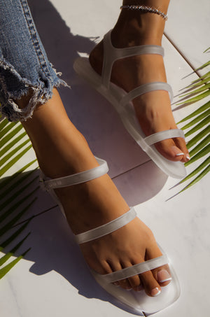Crystal - Clear Sandals