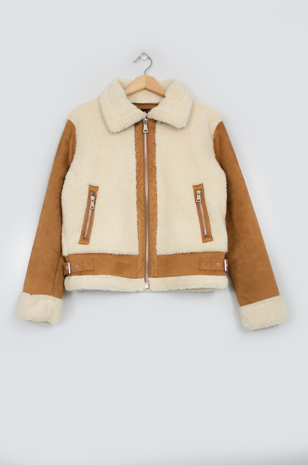 Cuddle Up - Camel Jacket
