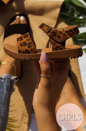 Daisy - Leopard Sandals