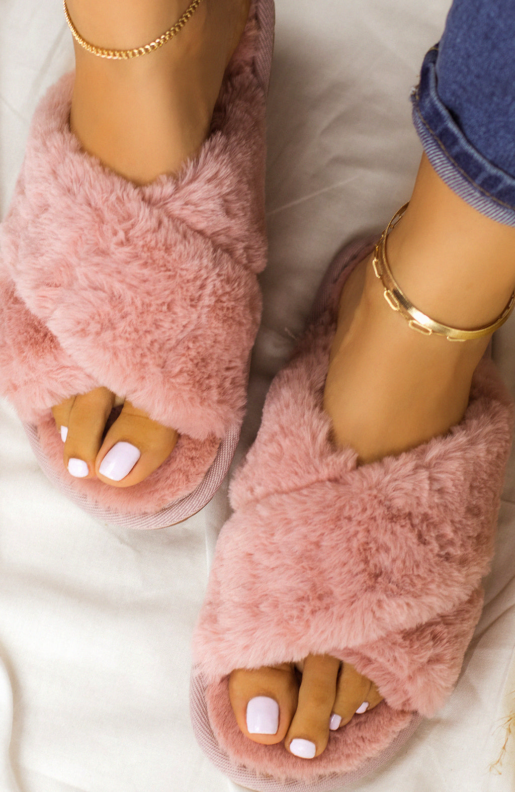 Easy Lounging - Rose Sandals