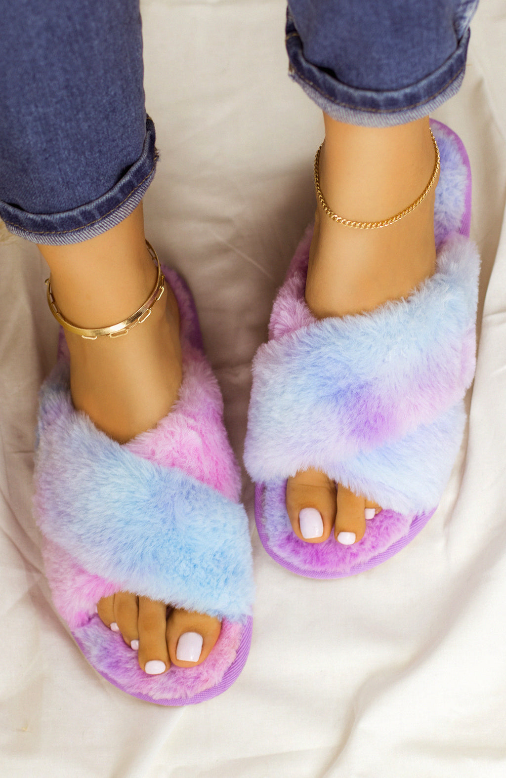 Easy Lounging - Tie Dye Sandals