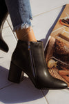 Fashion Muse - Black Booties