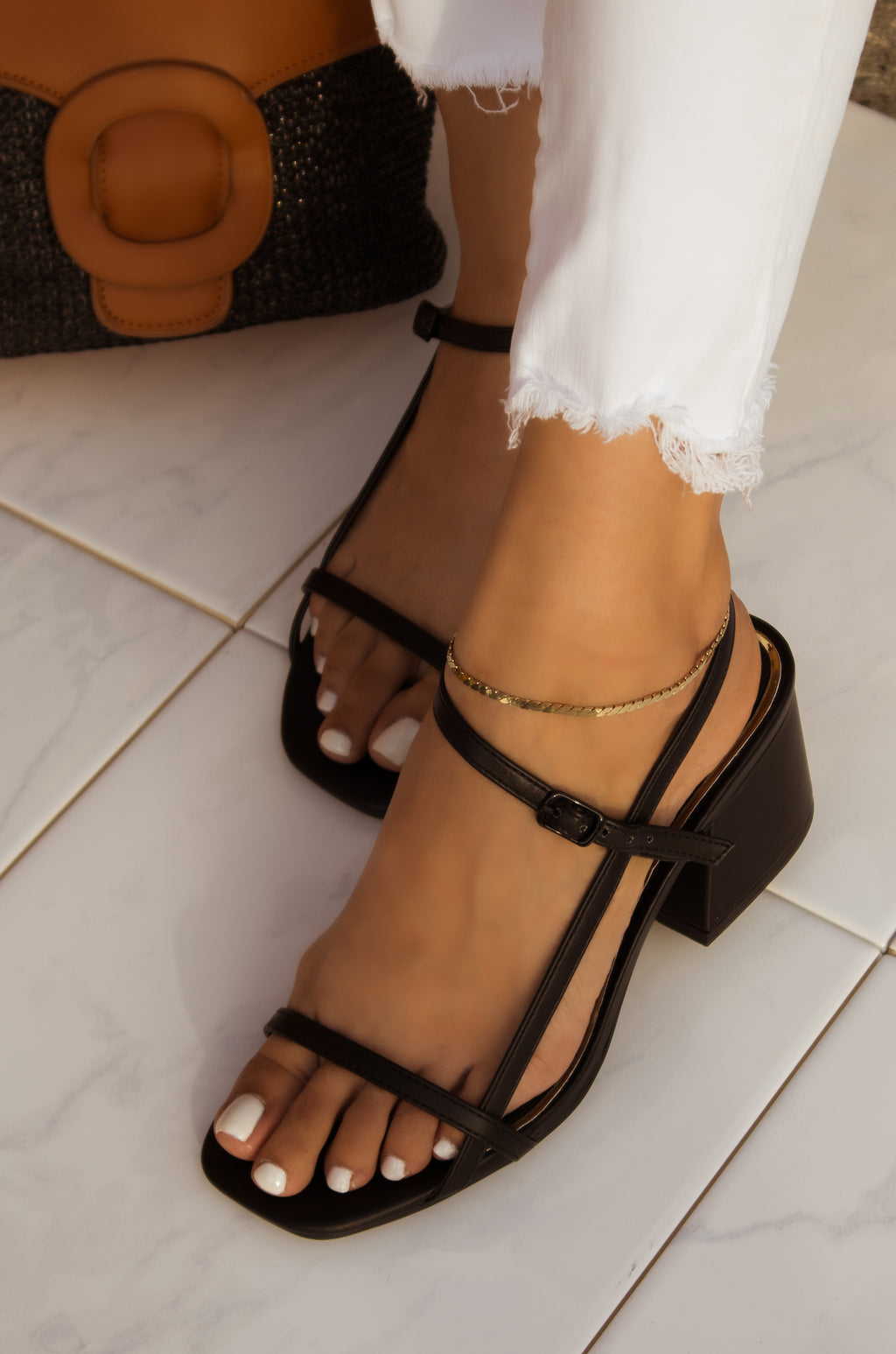 Flirty Moves - Black Heels