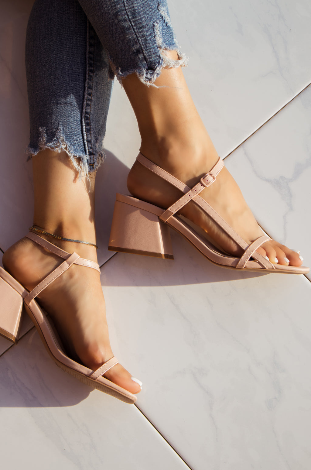 Flirty Moves - Nude Heels
