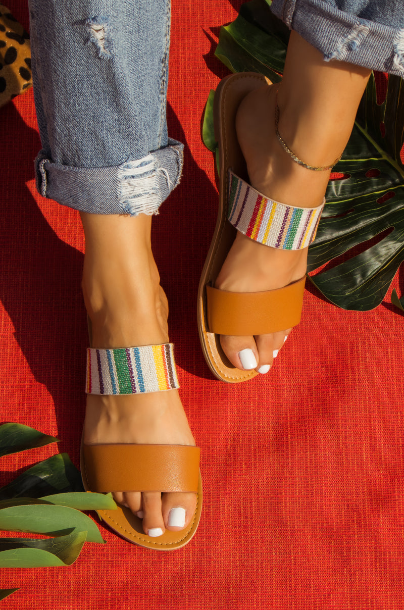 Havana Nights - Camel Sandals