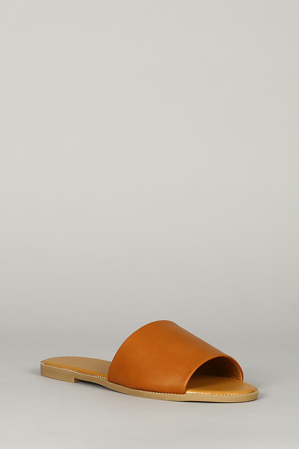 Heat Wave - Camel Slide On Sandals