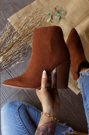 High Fashion - Caffe Booties