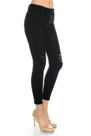 Hunter - Black Skinny Jeans