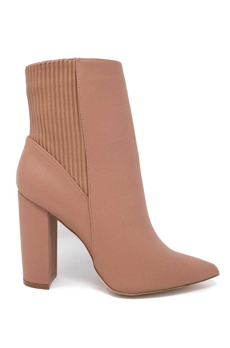 Iconic Love - Mocha Booties