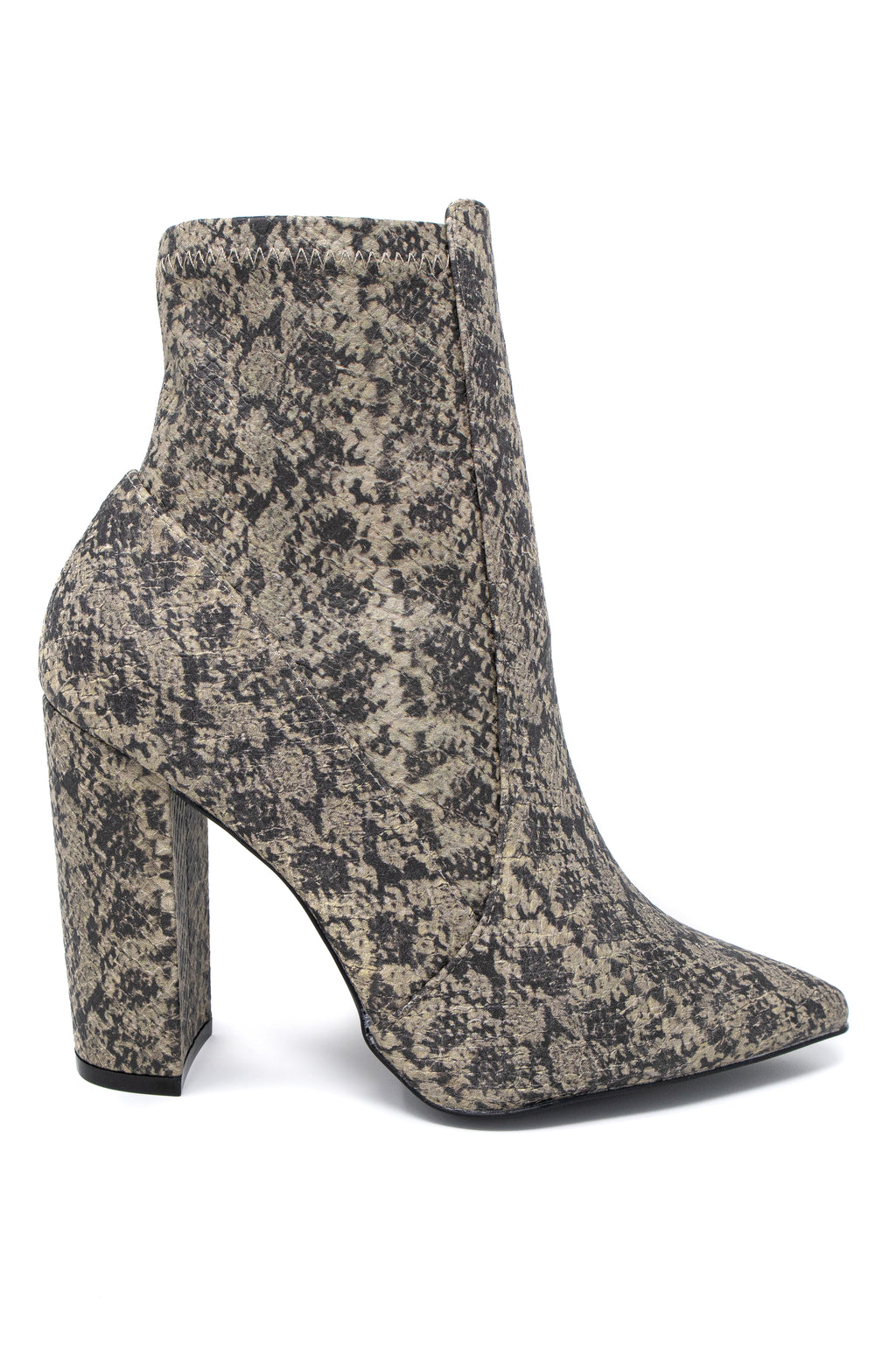 Insta Glam - Snake Booties