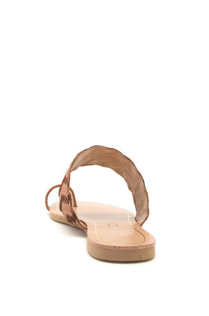 Isla de Mujeres - Cognac Toe Ring Sandals