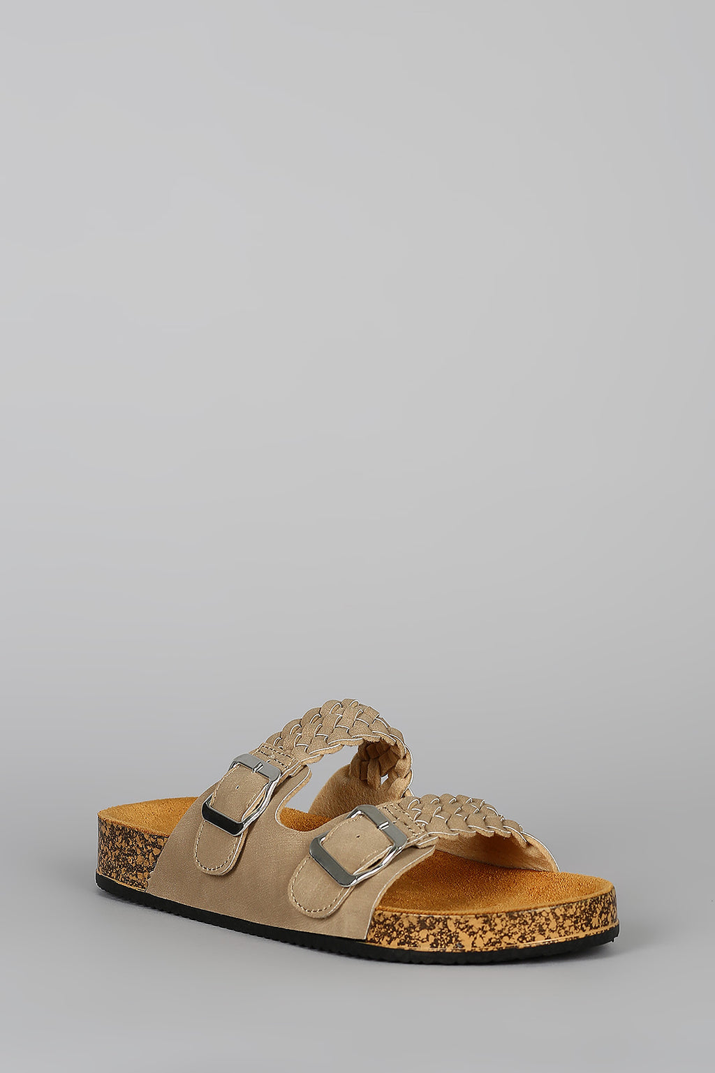 Island Oasis - Taupe Braided Sandals