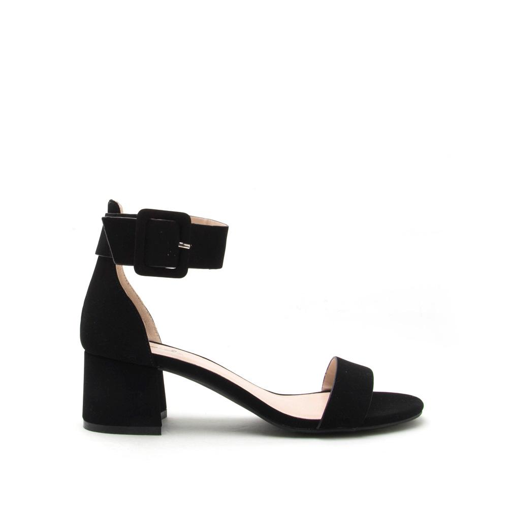 Wild Flower - Black One Band Sandal