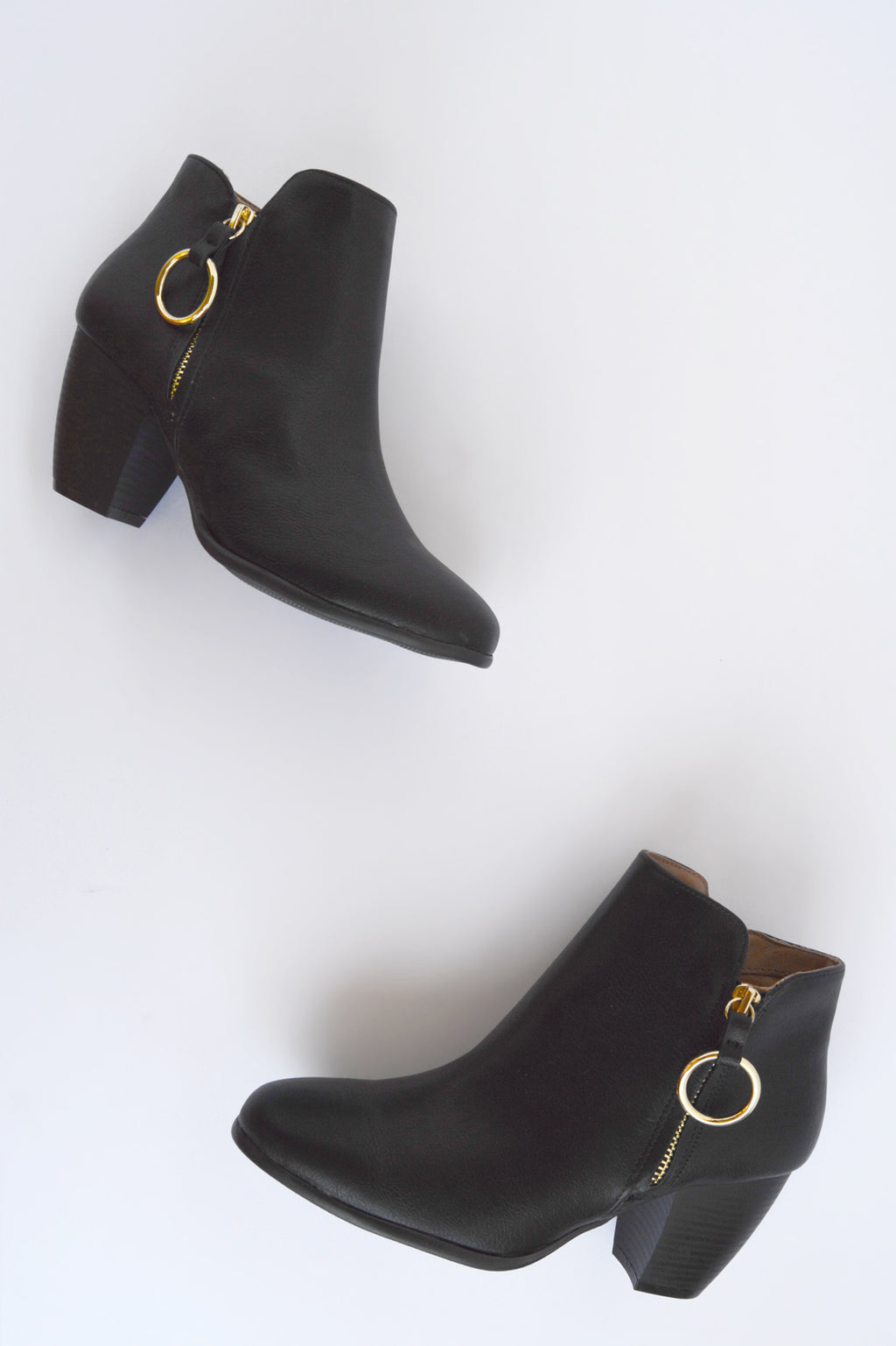 Dream Catcher - Black O Ring Booties