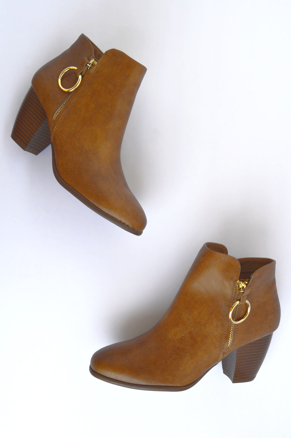 Dream Catcher - Tan O Ring Booties