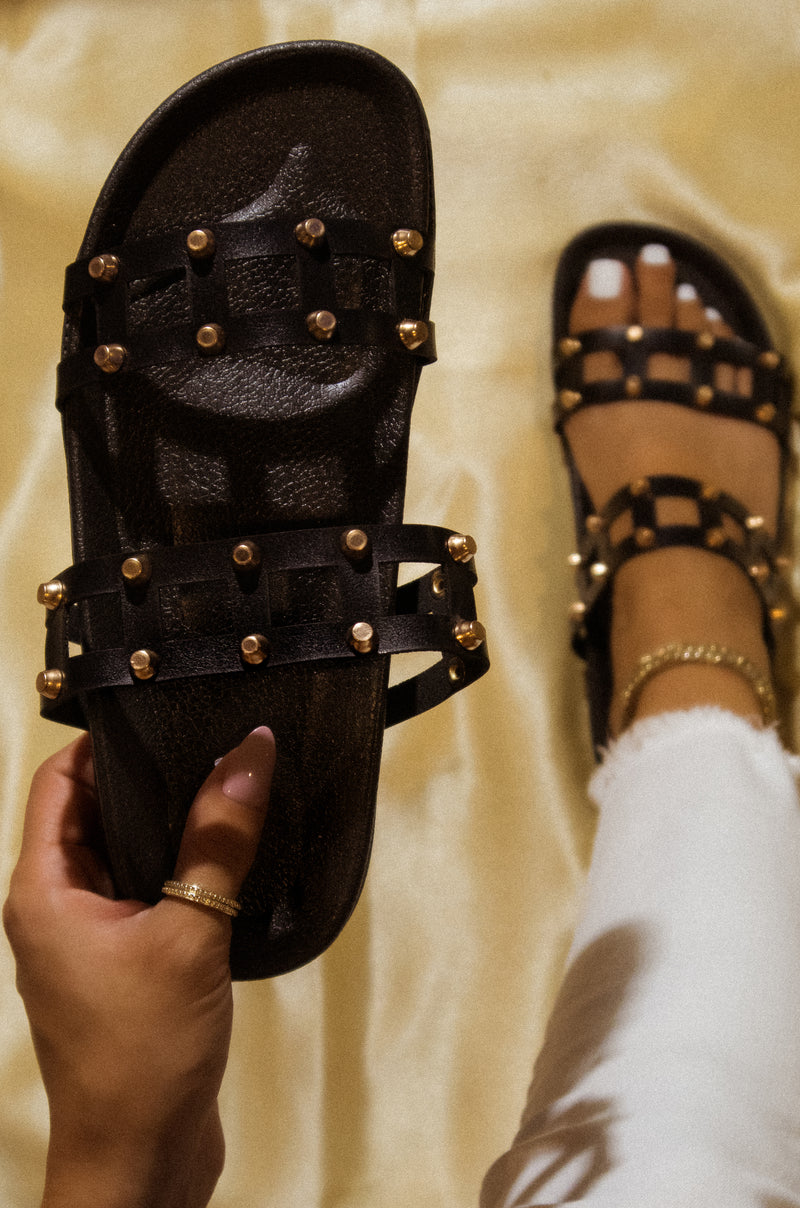Level Up - Black Sandals