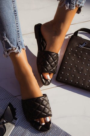 Love Galore - Black Sandals