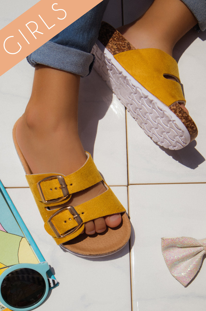 Luna - Yellow Sandals