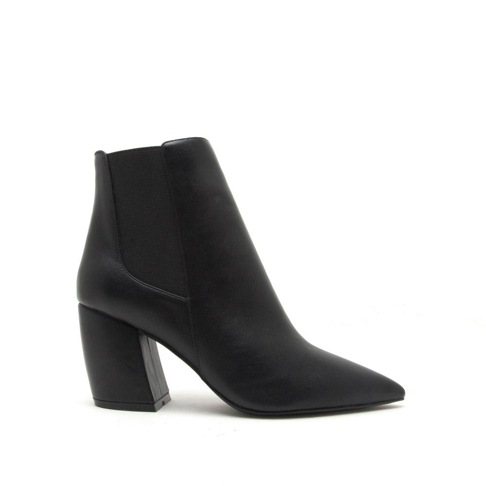 Next Level - Black Pointed Toe Bootie