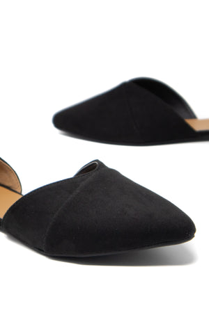 Meant To Be - Black D'Orsay Flats