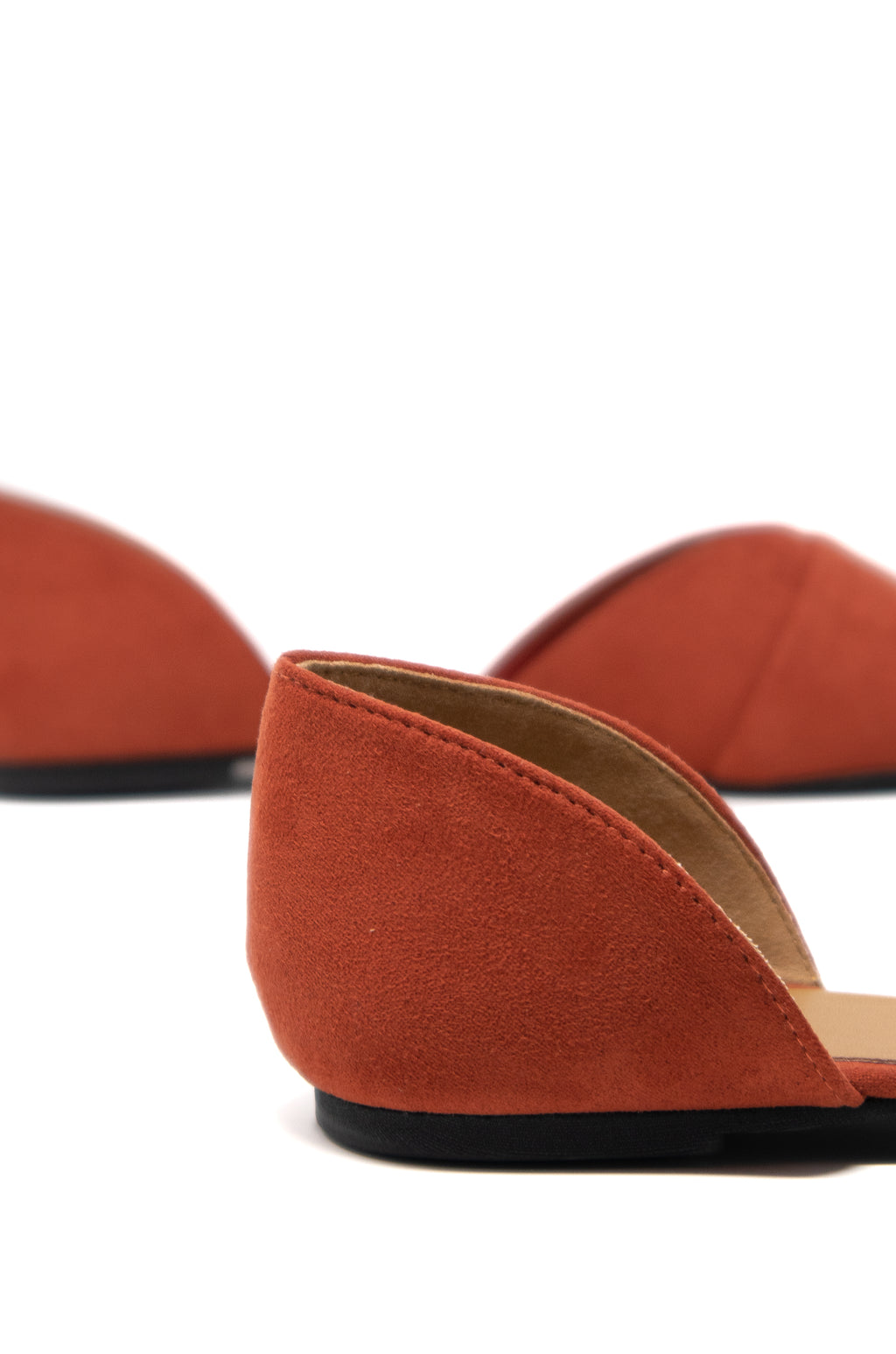 Meant To Be - Brick D'Orsay Flats