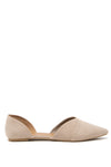 Meant To Be - Taupe D'Orsay Flats